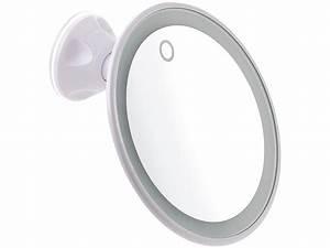 Kosmetikspiegel Mit Led Beleuchtung Und Vergrößerung : sichler beauty led spiegel saugnapf kosmetikspiegel mit led licht und akku 5 fache ~ Sanjose-hotels-ca.com Haus und Dekorationen