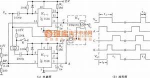 neighbor pulse delay circuit555 555 circuit circuit With pulse delay circuit