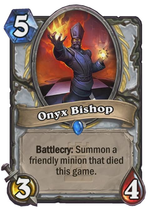 onyx bishop hearthstone card