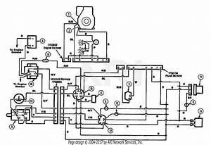 Troy Bilt 13025 12 5 Gear Drive Tractor  S  N 130250100101  Parts Diagram For Wiring Diagram