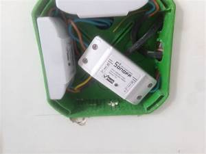 Putting A Sonoff In Your Wall Switch Box - Share Your Projects