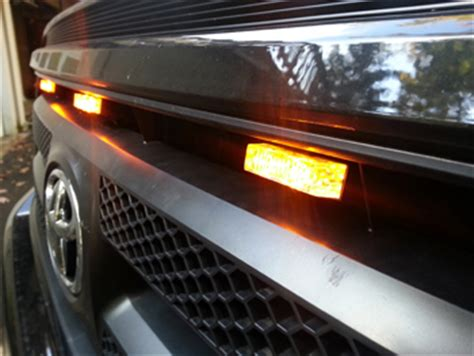 Truck Grill Lights by Truck Grill Mount Led Lights With Clip