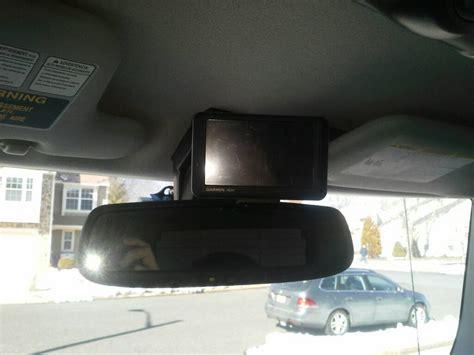 garmin drivesmart  lmt  installed  rear view