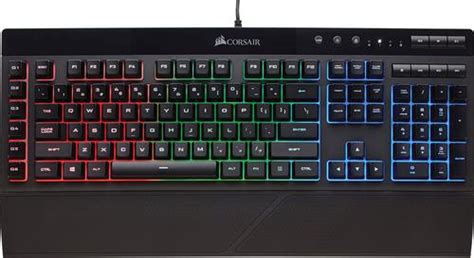 Corsair Gaming K55 Rgb Keyboard Black Ch9206015na  Best Buy