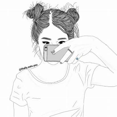 Drawing Coloring Drawings Realistic Outline Dessin Buns