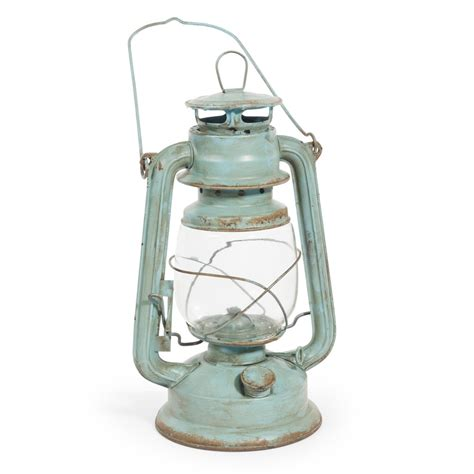 lanterne le 224 huile en m 233 tal verte h 28 cm maisons du monde