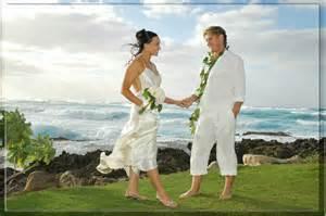 wedding in hawaii hawaii weddings oahu kauai