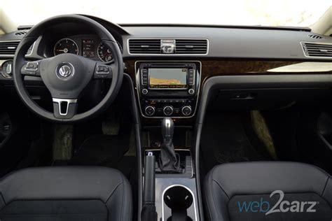 volkswagen passat 2015 interior 2015 volkswagen passat tdi sel premium review web2carz