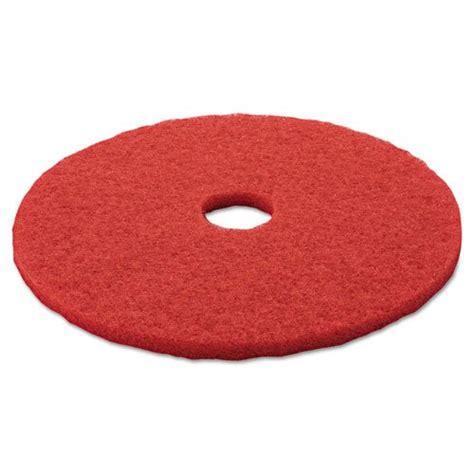 buffer floor pad 5100 20 quot red 5 carton