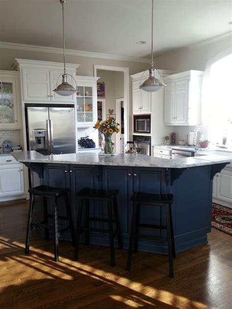 navy kitchen cabinets ideas  pinterest navy