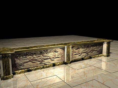 Antique bar counter 3d model 3D Studio,3ds max files free