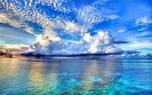Beach, Sea, Rain, Landscape, Nature, Wallpapers, Hd, Desktop, And, Mobile, Backgrounds