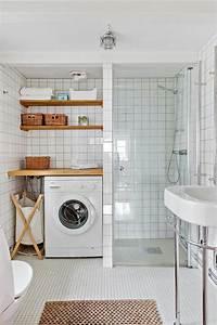 1001 idees pour une salle de bain 6m2 comment realiser With salle de bain petit espace