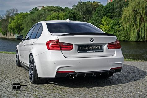 Bmw 3 Series With The Tc-concept Wide Body Kit Looks Like