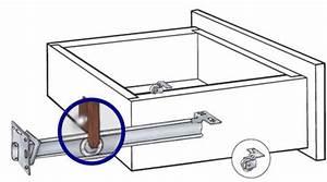 Undermount Drawer Slide - 22 U0026quot