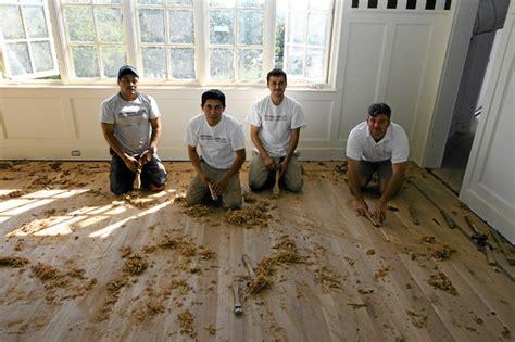 hardwood floor corner scraper scraping wood table hgtv vegetable bin plans