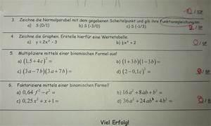 Scheitel Berechnen : verschiedene aufgaben zu quadratischen funktionen termen mathelounge ~ Themetempest.com Abrechnung