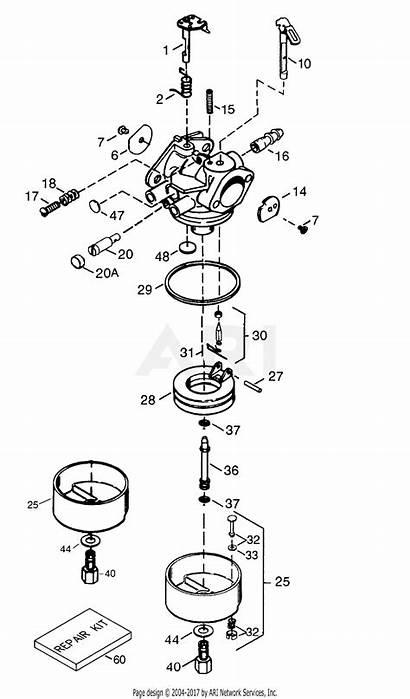 Parts Tecumseh Carburetor Tec Diagram Mfg Diagrams
