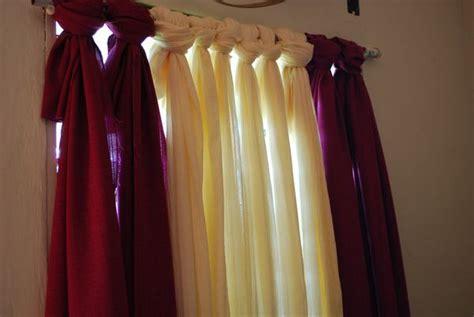 diy curtains 20 budget friendly no sew diy curtains ideas