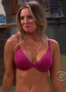 donald costume kaley cuoco bra