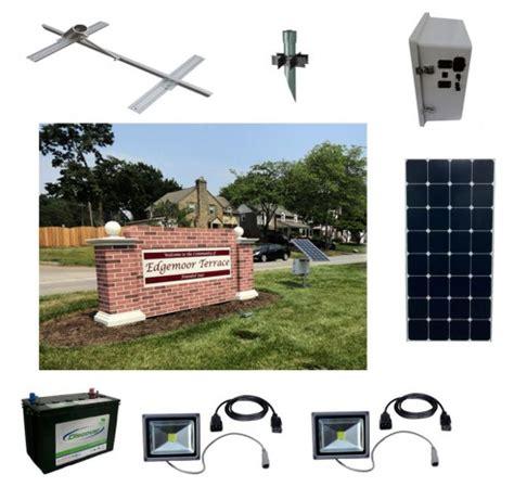 solar sign lighting kits sun in one