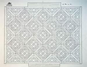 calepinage parquet a panneaux d39aremberg en noyer With calepinage parquet