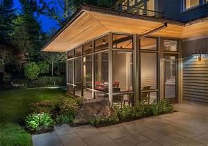 Modern Screen Porch - Modern - Exterior - boston - by