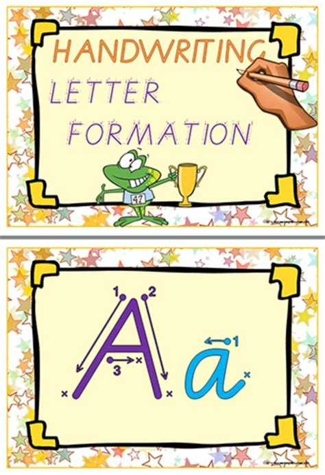 abc handwriting practice images  pinterest