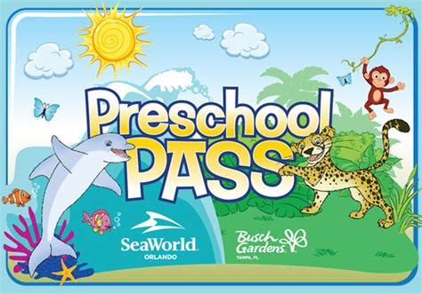 busch gardens pass free 2015 seaworld and busch gardens preschool pass