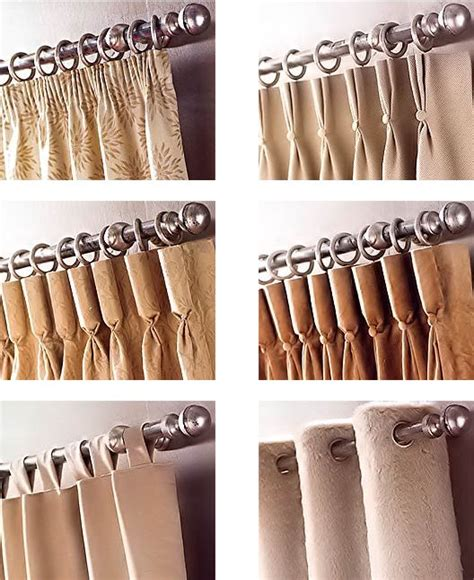 Different Styles Of Drapes - 15 best curtain headings images on curtain