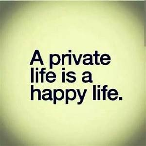 Privacy In Rela... Keep Privacy Quotes