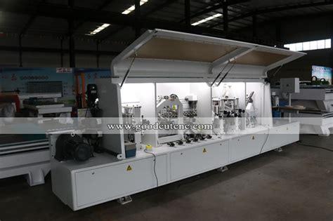 goodcut factory automatic veneer wood board edging machine pvc edge banding