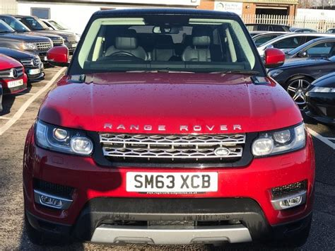 Used 2013 Land Rover Range Rover Sport 3.0 Sdv6 Hse Auto