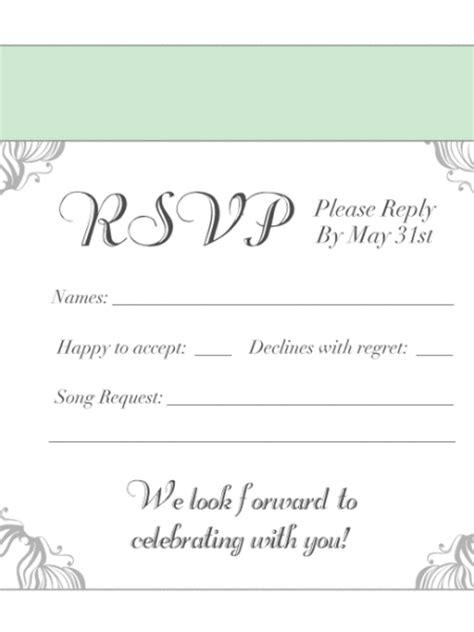 response cards  wedding invitations beeprinting