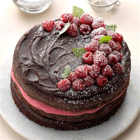 raspberry fudge torte recipe taste  home