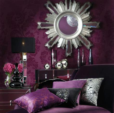 chambre baroque et noir chambre baroque violet noir décoration chambre