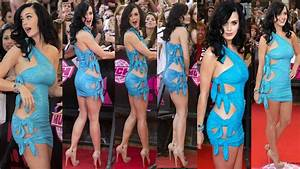 Katy Perry body in the famous blue dress – multishot ...