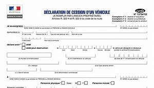 Attestation Cession De Véhicule : formulaire vente de voiture d occasion voiture d 39 occasion ~ Gottalentnigeria.com Avis de Voitures