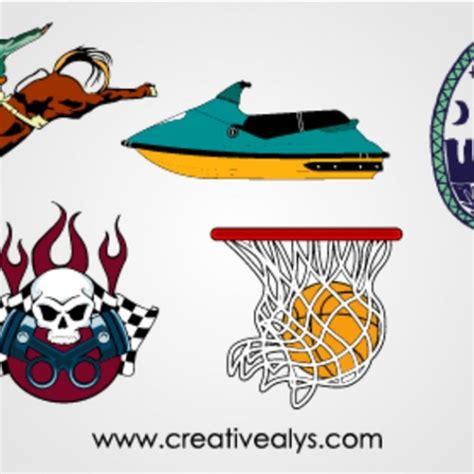 sport logos vector free download