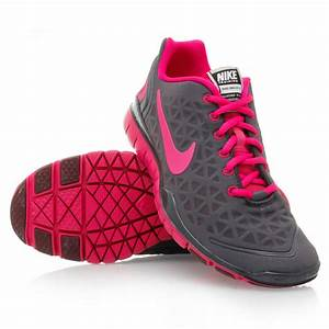 Nike Free TR Fit 2 (009) Womens Running Shoes Grey