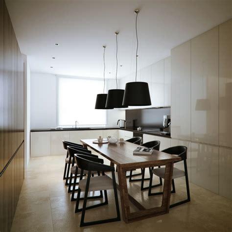 Kuche Esszimmer by Moderne Esszimmer Einrichtung 18 Inspirierende Designs