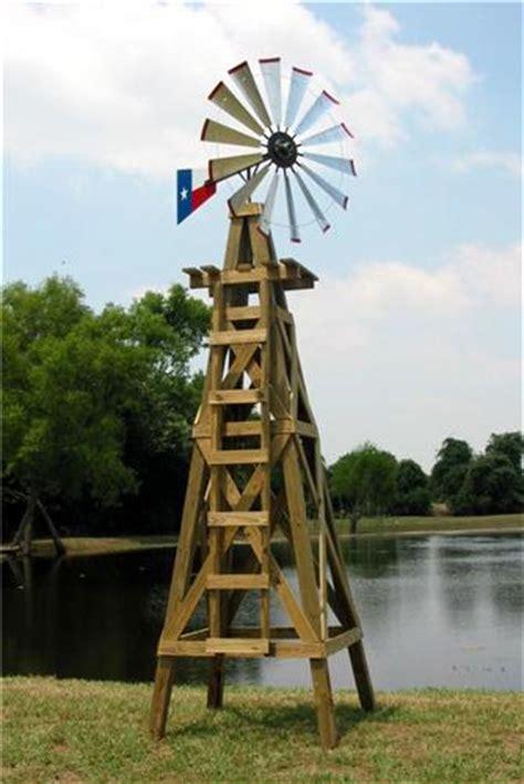 lonestar decorative windmill  texas flag rudder