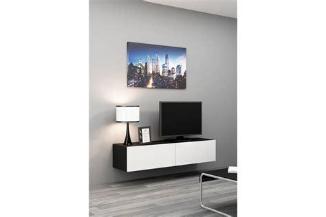 Meuble Tv Design Suspendu Vito 140cm