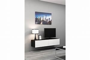 Meuble Tv Suspendu But : meuble tv design suspendu vito 140cm chloe design ~ Teatrodelosmanantiales.com Idées de Décoration