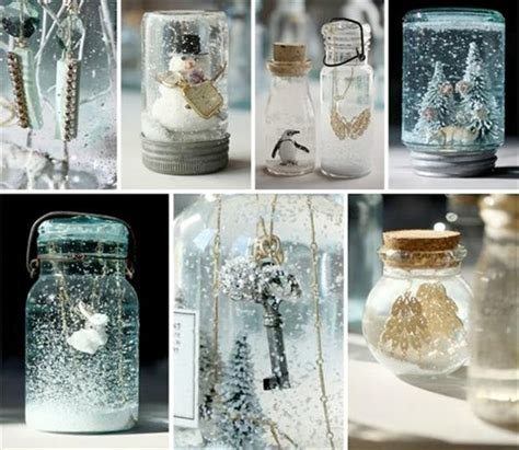 christmas crafts snow globes dump a day