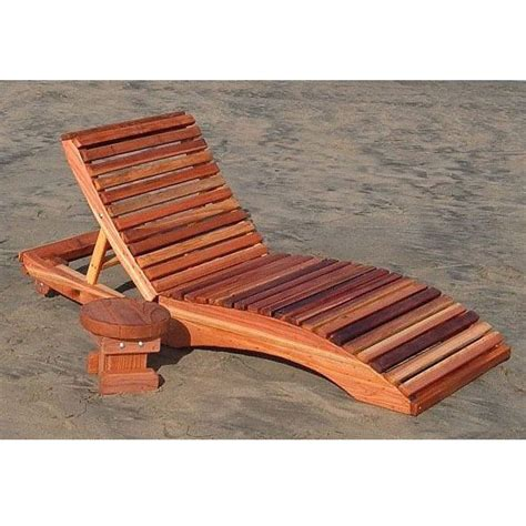 redwood outdoor pennys single chaise lounge chair