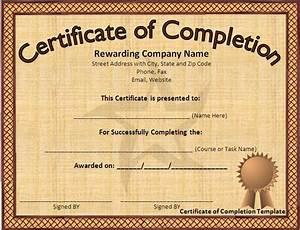 Award Certificate Template Microsoft Word Download