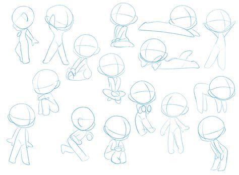 anime chibi pose chibi pose dump by pixel penguin da on deviantart