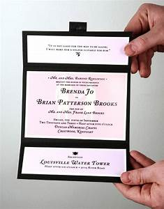 Simple wedding invitation ideascherry marry cherry marry for Easy wedding invitation ideas