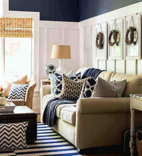 Blue And Brown Living Rooms [peenmediacom]